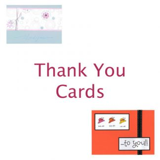 Thank You and Well Done Cards